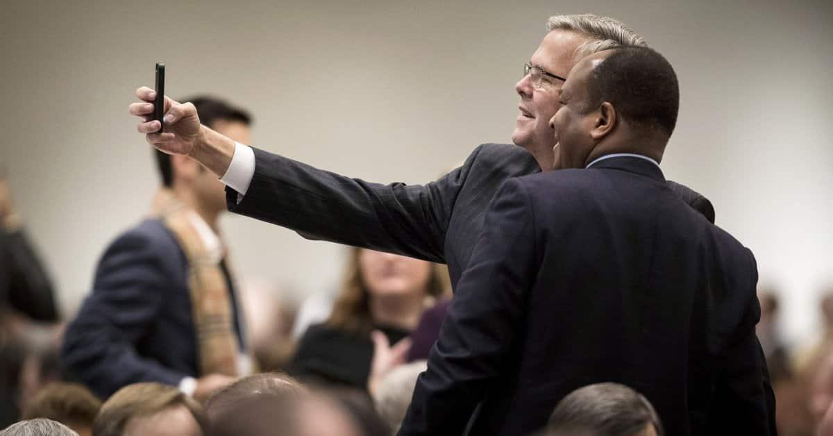 Jeb Bush Subliminally Announced Strategy for Secret Money Primary