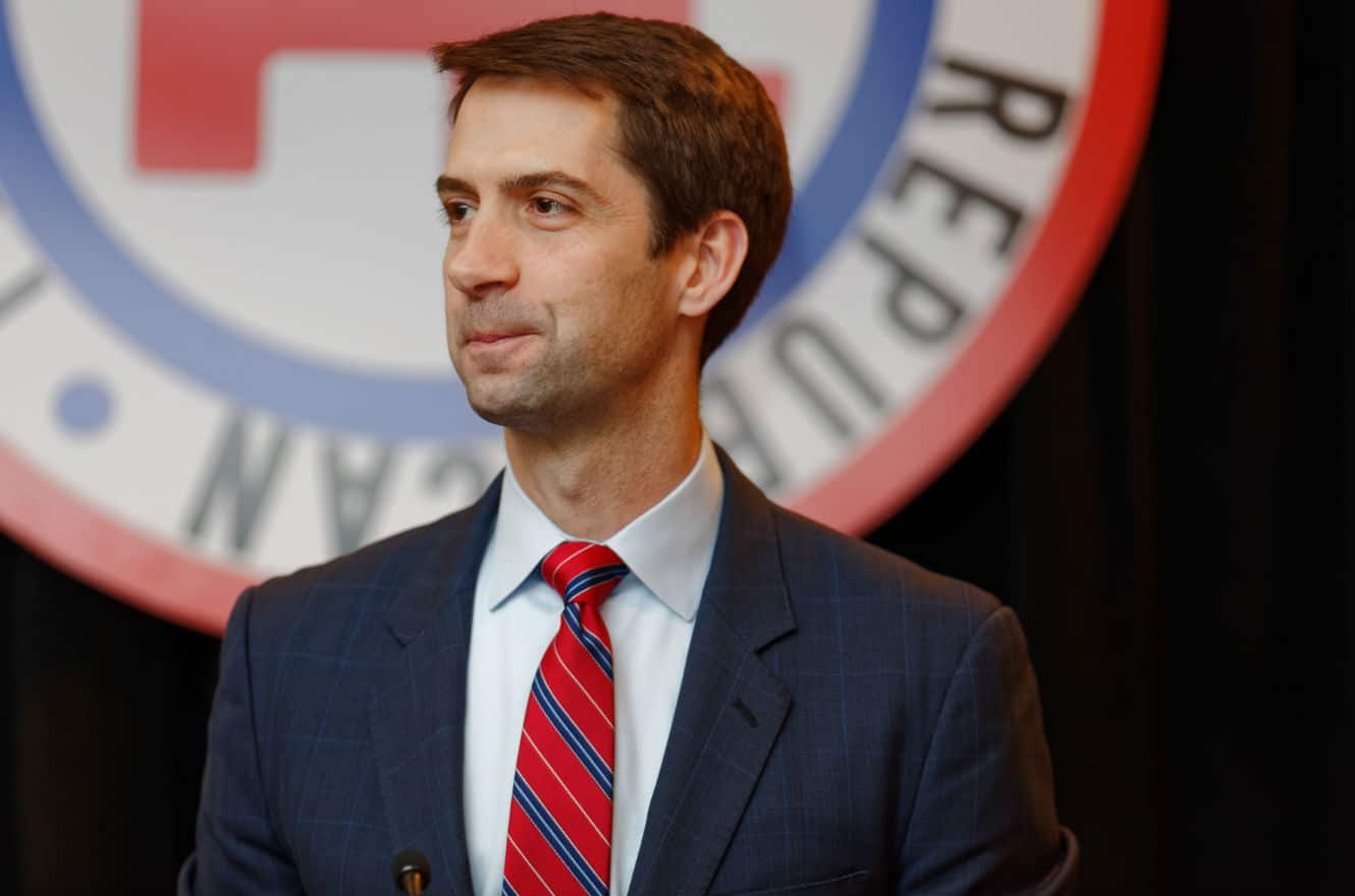 Tom Cotton Bows Down to Weapons Lobbyists Day After Letter Sabotaging Iran Deal