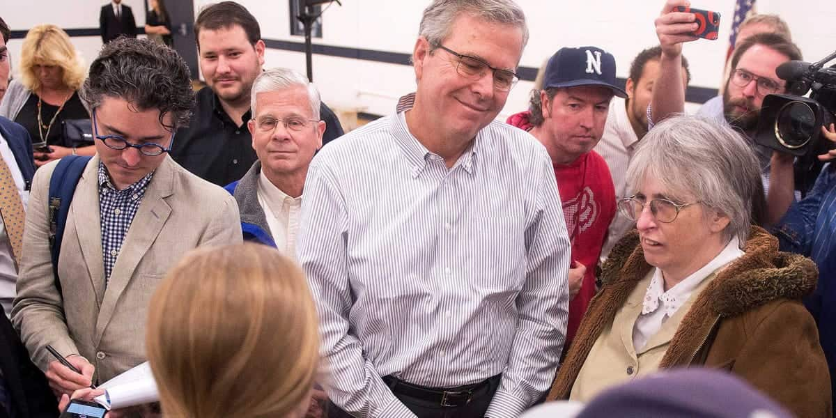 Student Calls Out Jeb Bush 'Your Brother Created ISIS' (VIDEO)