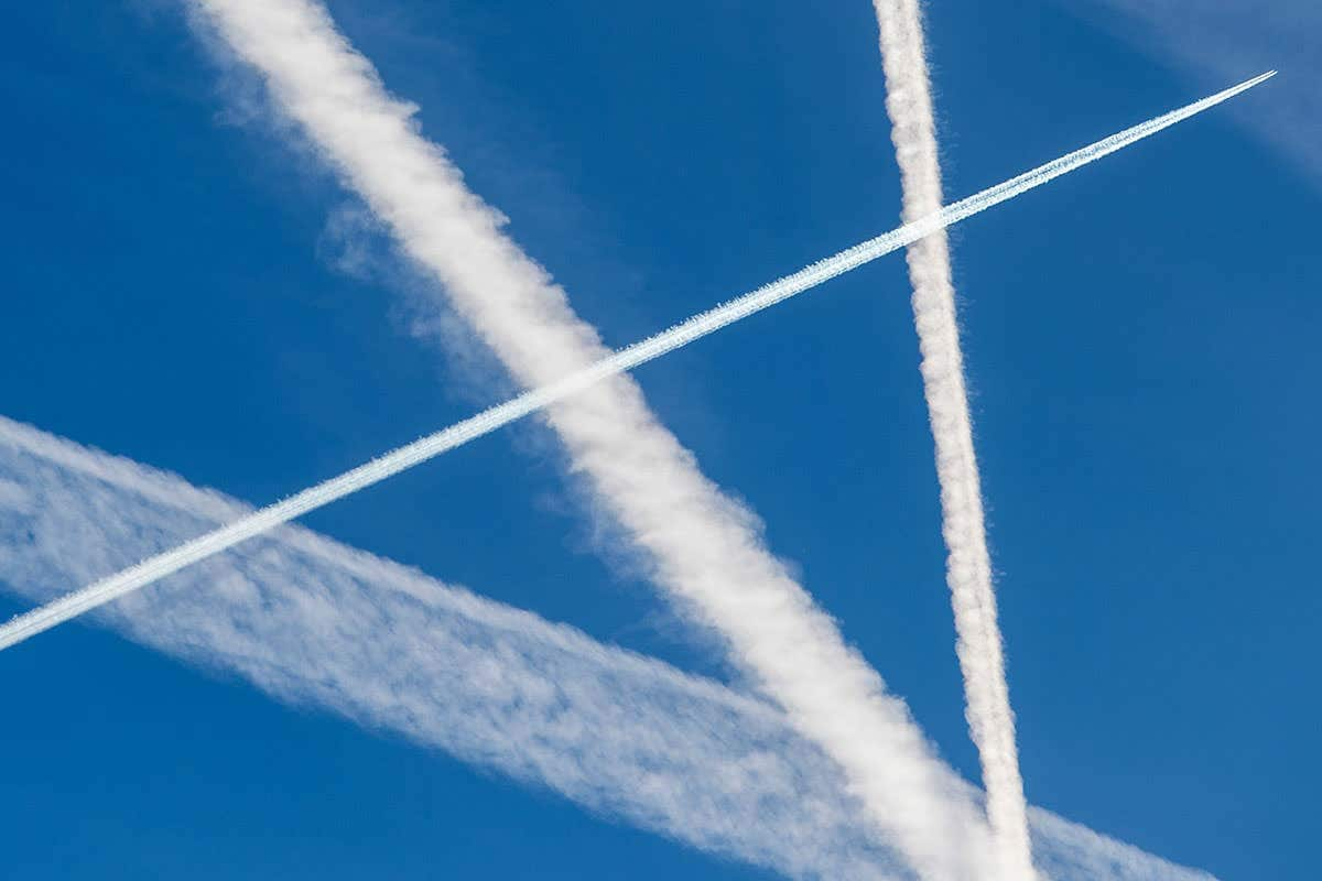 Climate Change Denying Congressman Confronted By Reality Denying Chemtrail Believers (VIDEO)