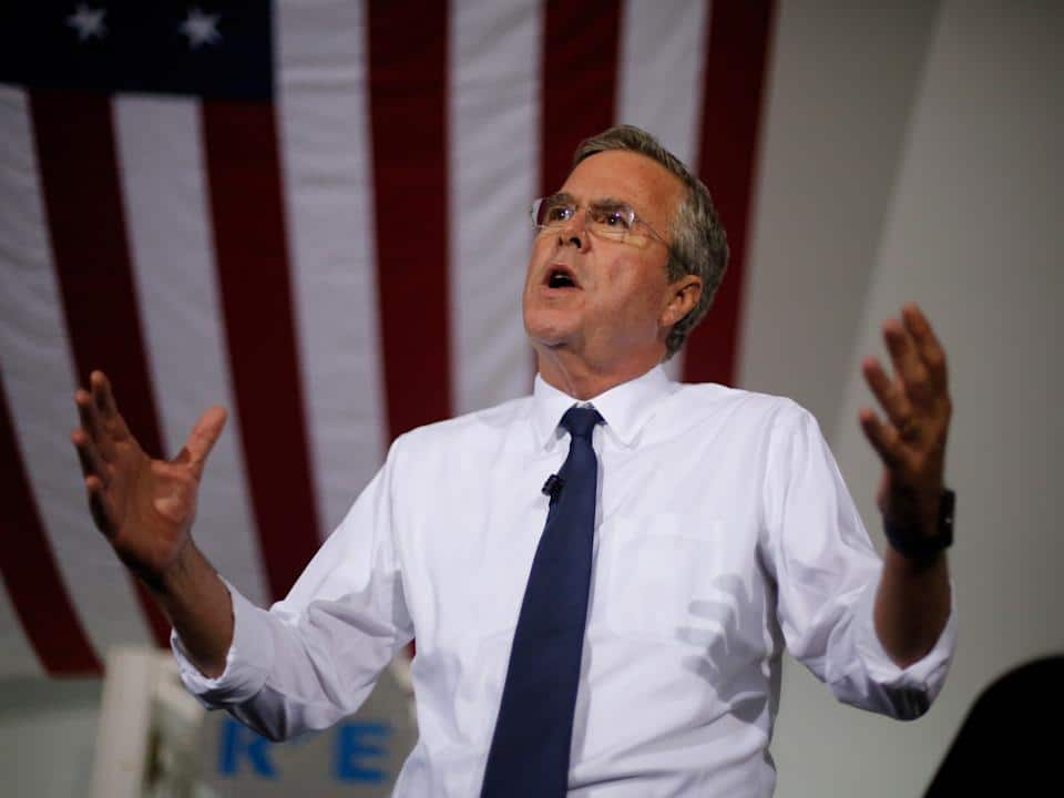 Jeb's W. Bush Double Bind Is Killing His Candidacy