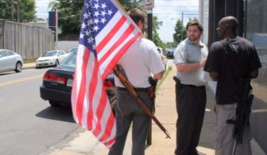 A White Man And A Black Man Open Carry An AR 15: Guess Who Gets Arrested? (VIDEO)