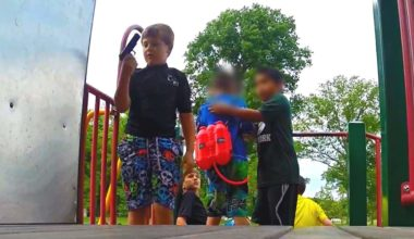 Kids Find A Gun On The Playground, Guess What Happens Next (VIDEO)