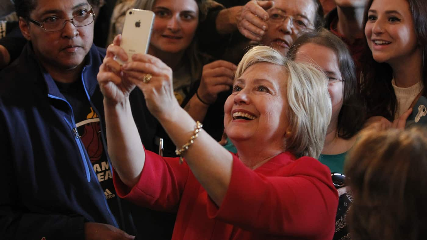Hillary Clinton's Poll Numbers Take A Huge Drop In Just One Month