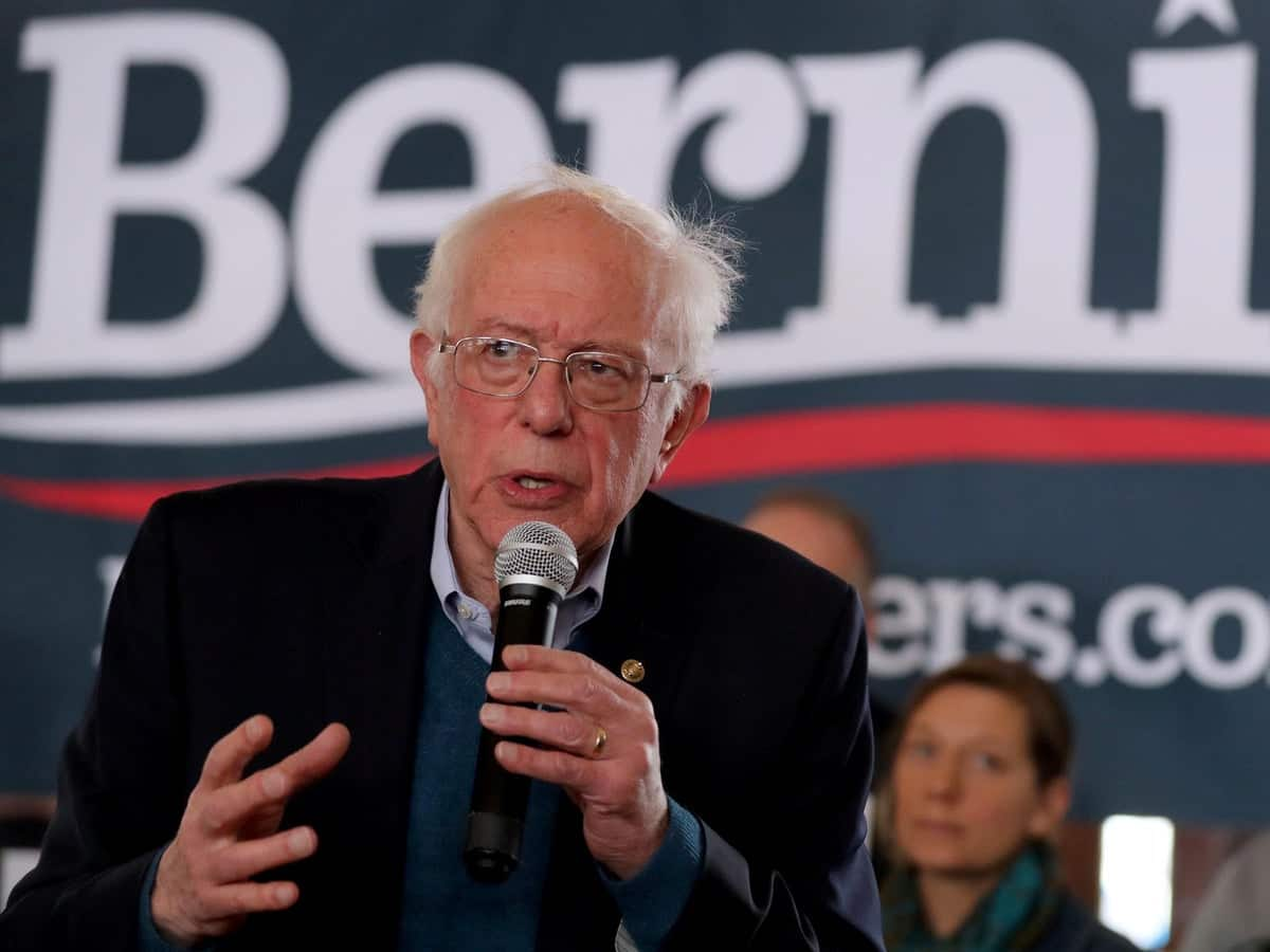 Surging Bernie Sanders Insists He CAN Beat Hillary Clinton