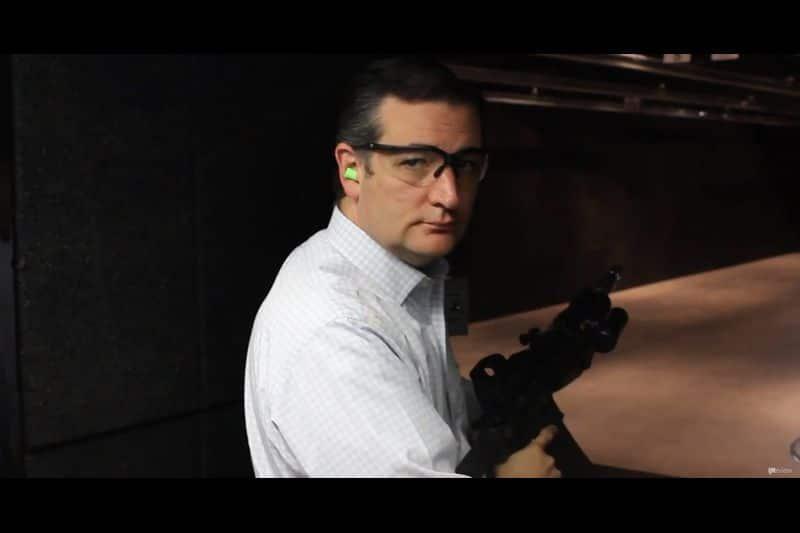 Watch Ted Cruz Cook 'Machine-Gun Bacon' In This Deeply Disturbing Video (VIDEO)