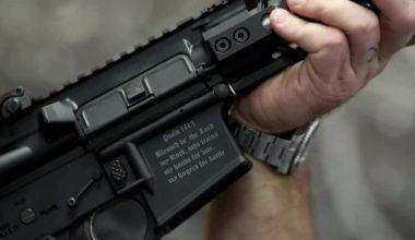 Florida Gun Maker Creates Muslim Killin' Rifle Complete With Engraved Bible Verse