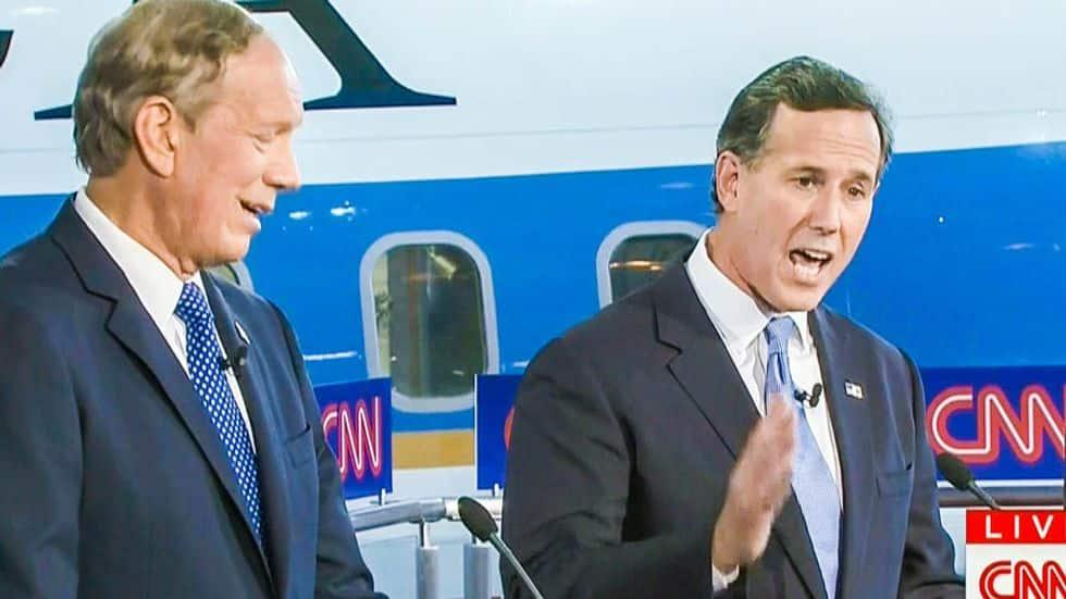 Rick Santorum Says Kim Davis is Like a Columbine Victim