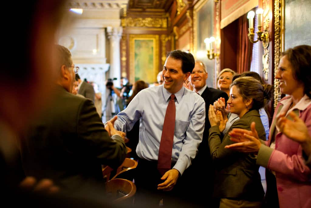 Scott Walker's War On Unions Is About To Go National. You're Welcome, Koch Brothers