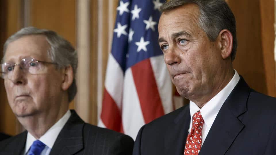 Top Ten Reasons For John Boehner's Sudden Resignation