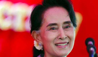 Burmese Political Prisoner Wins Landslide Victory In First National Democratic Election Since 1960