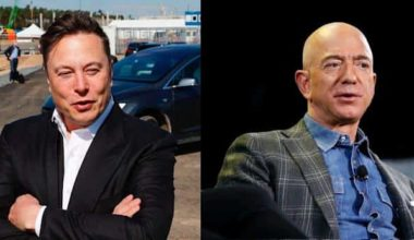 Jeff Bezos And Elon Musk Engaged In Real Life Star Wars