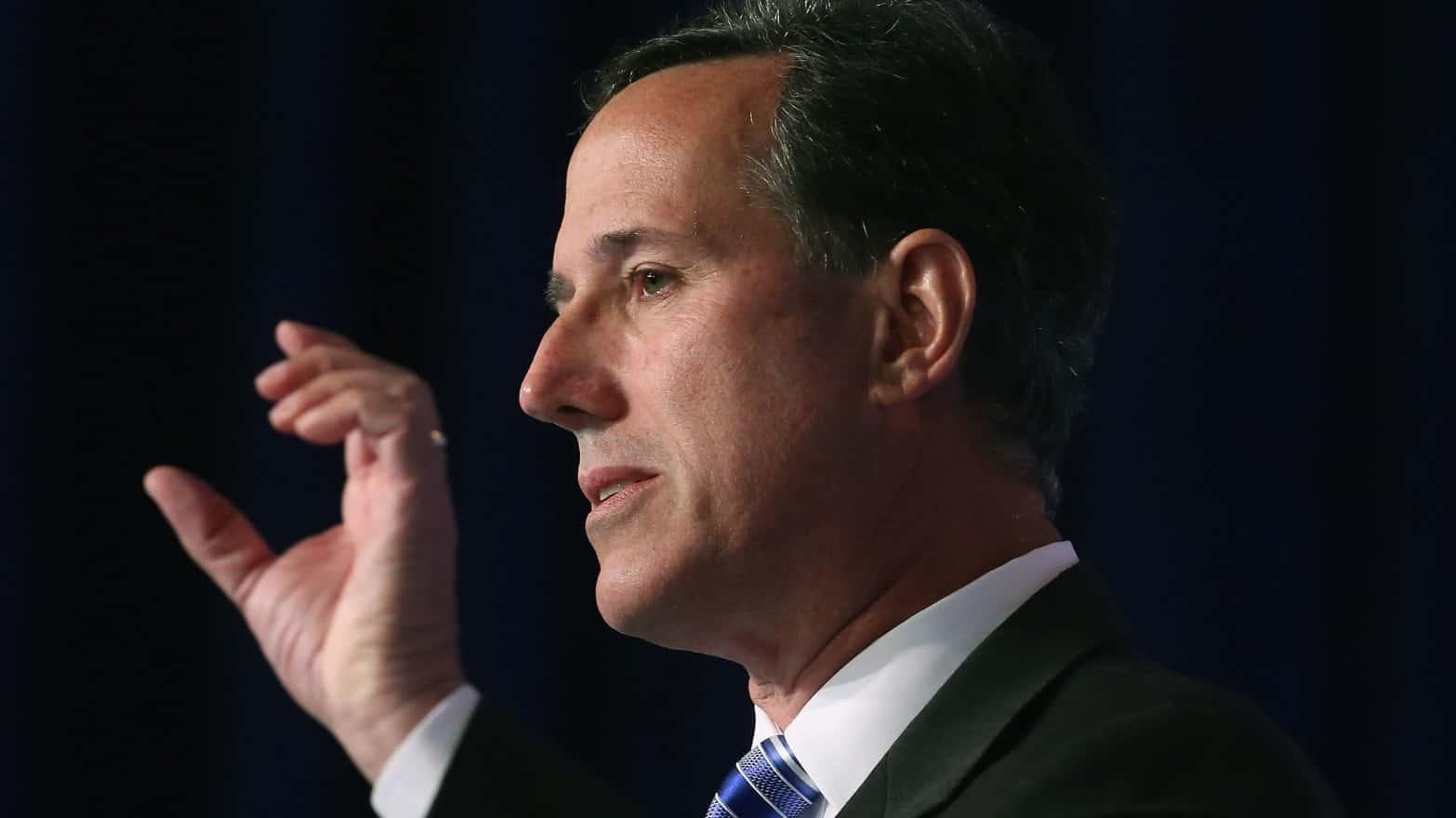 Rick Santorum Islam Is Not A Religion, It's A Political Movement