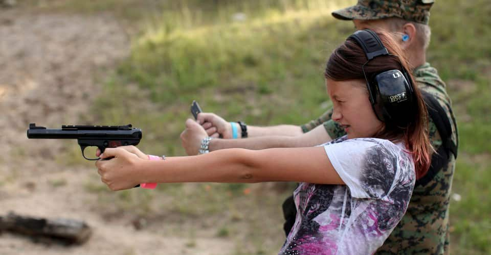 Gun Nut Model Mom Calls Guns Toys, Gets Shot By 4 Year Old Son