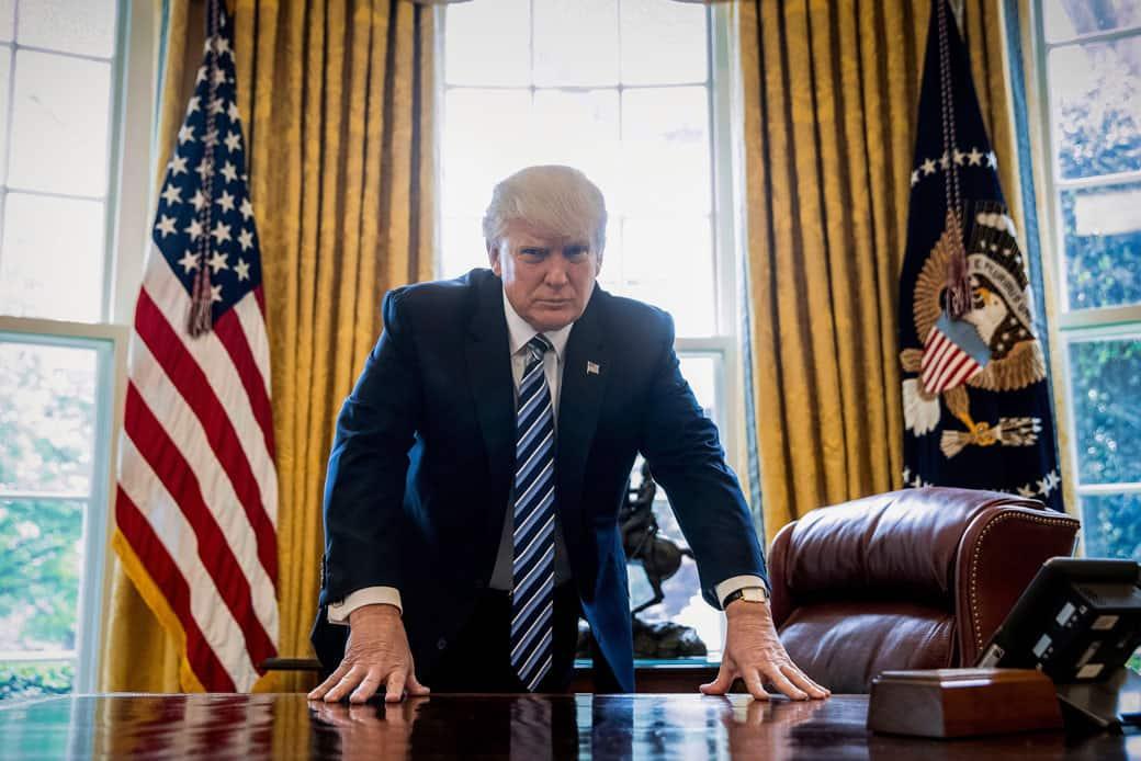 Trump Takes Break From Slandering Everyone To Claim He's The Most Slandered