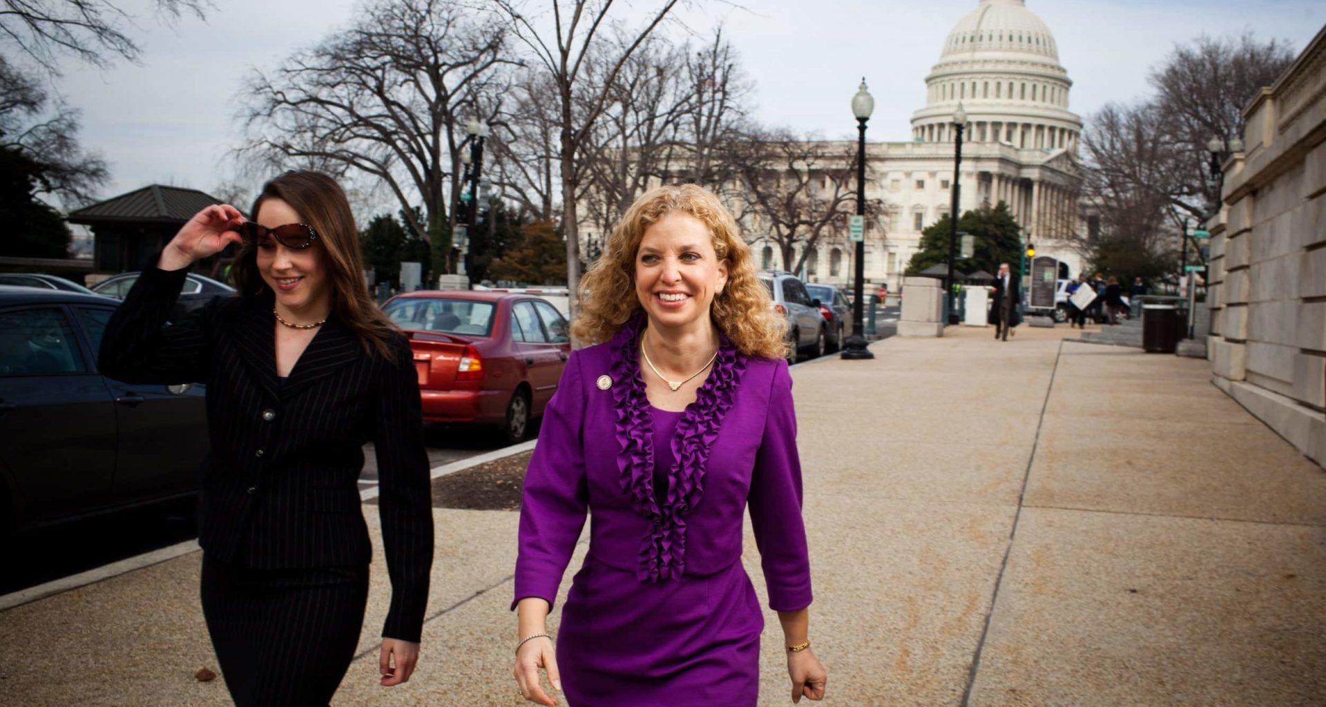 Debbie Wasserman Schultz Prepares To Exit From DNC