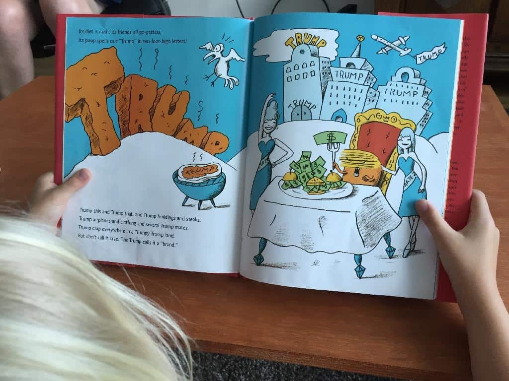 This Hilarious New 'Kids' Book About 'Bright Orange Beasty' Donald Trump Will Make Your Day
