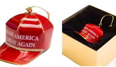 The Amazon Reviews For Trump's Christmas Ornaments Are Side Splittingly Hilarious (IMAGES)