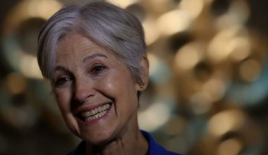 Jill Stein Drops PA Suit Over $1 Million Cost After Raising $7 Million For Recount