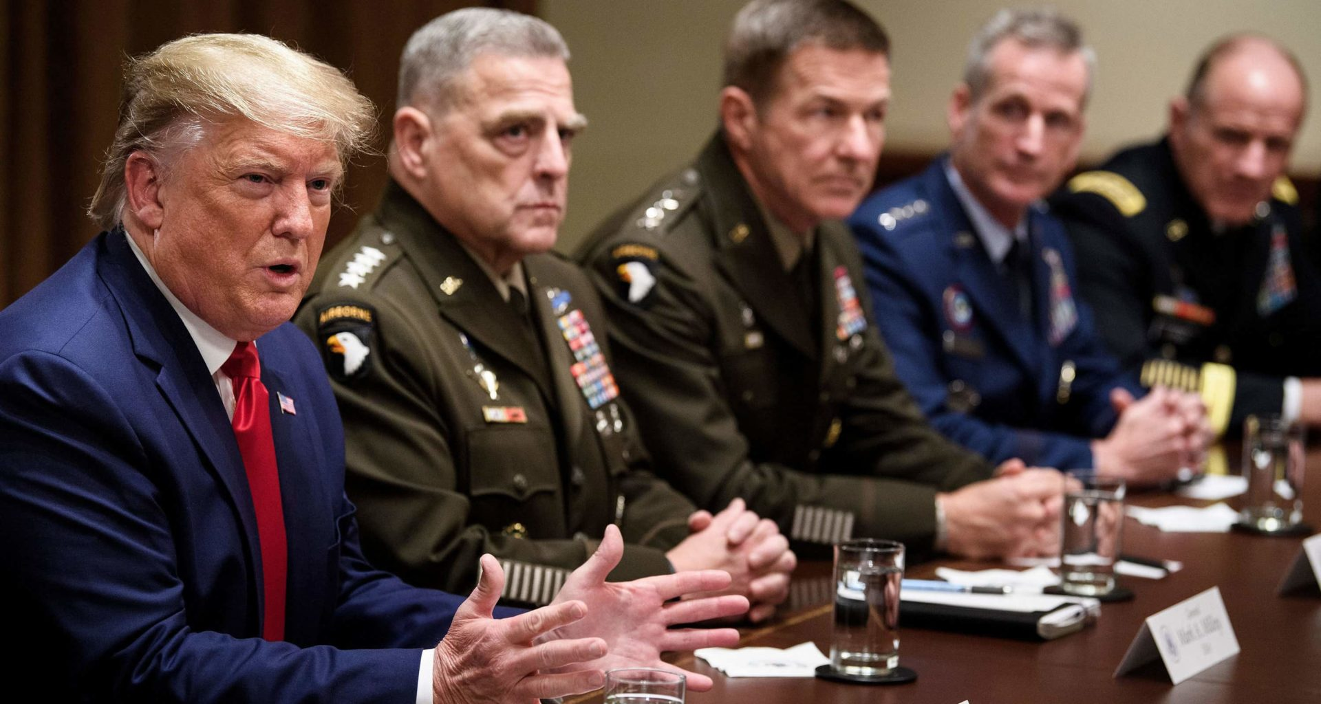 Leak Trump Threatens To Send U.S. Troops Into Mexico