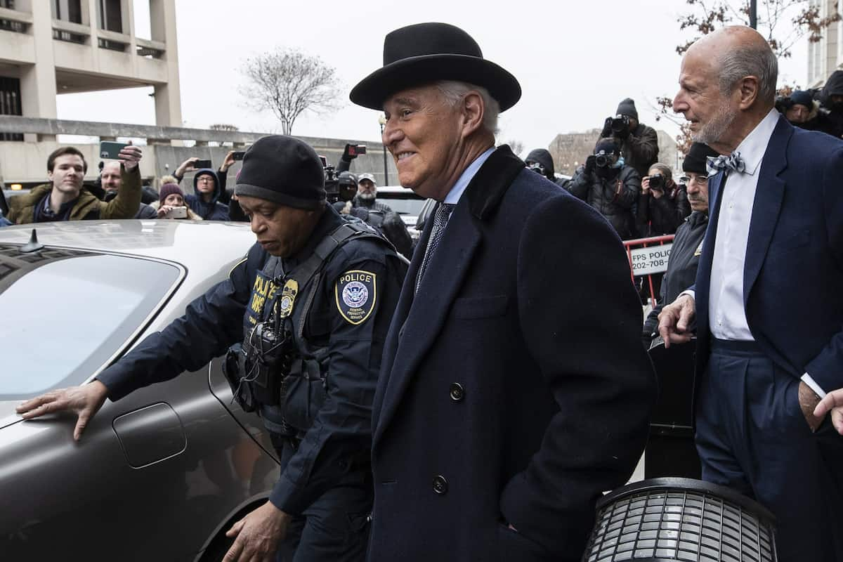 REPORT FBI Has Evidence That Trump Pal Roger Stone Communicated with Alleged Russian DNC Hackers