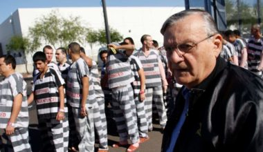 Notorious Racist Sheriff Joe Arpaio GUILTY – Could Die in Prison!