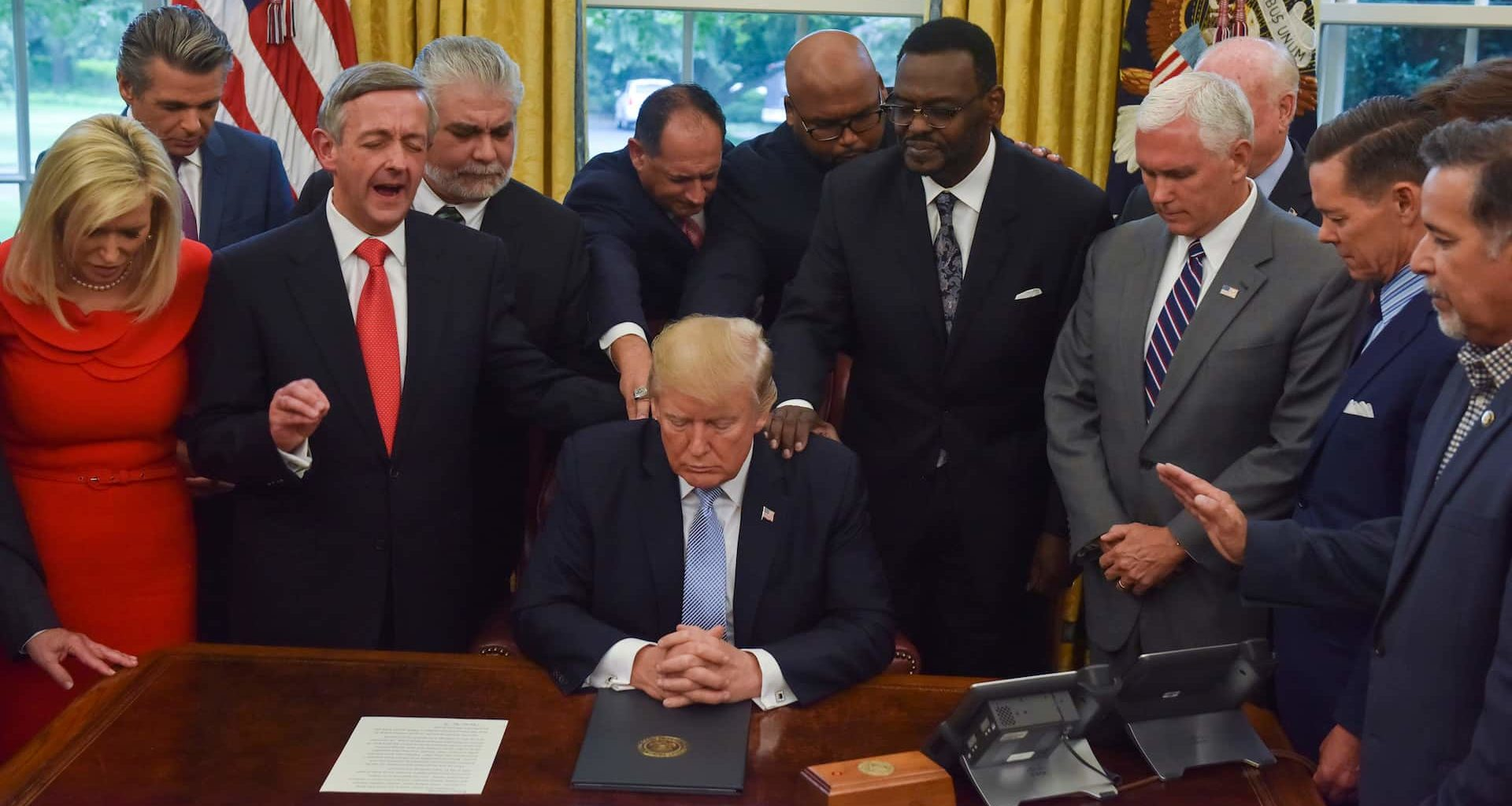 Thou Shalt Not Trump Signs Declaration for Day of Prayer – And Breaks the 9th Commandment