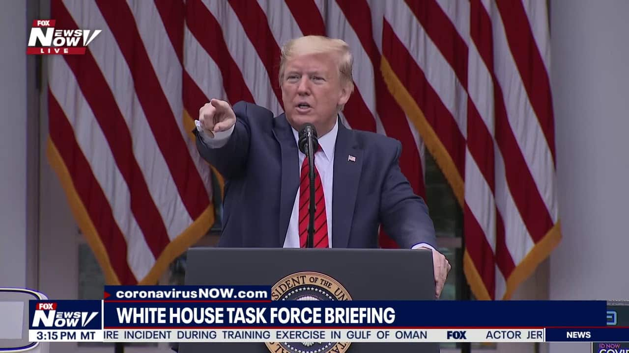 Watch Cowardly Trump Turn Tail And Flee Reporters Asking About Racist Remarks at MLK Ceremony