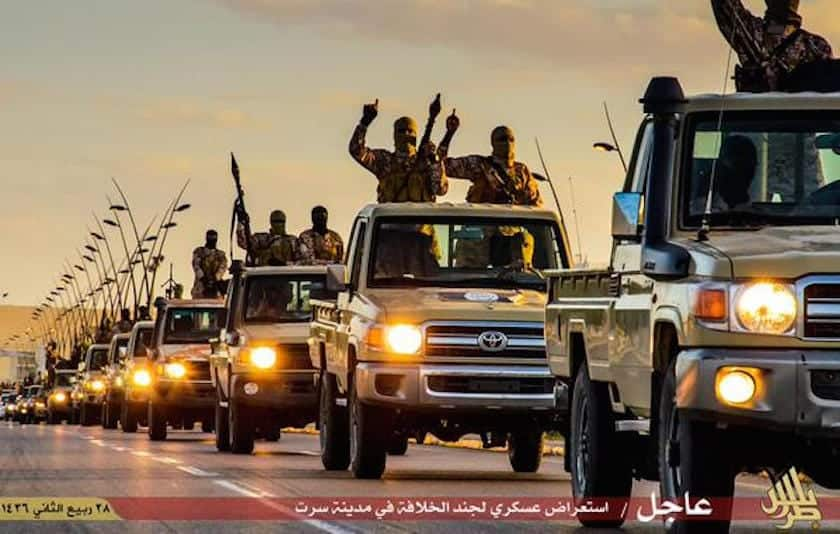 As for how terrorists in the Middle East get their hands on Toyota trucks, the company has said it's impossible to track the vehicles. Brig. Gen.