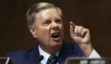 Republican Lindsey Graham: 'Tell Donald Trump To Go To Hell'
