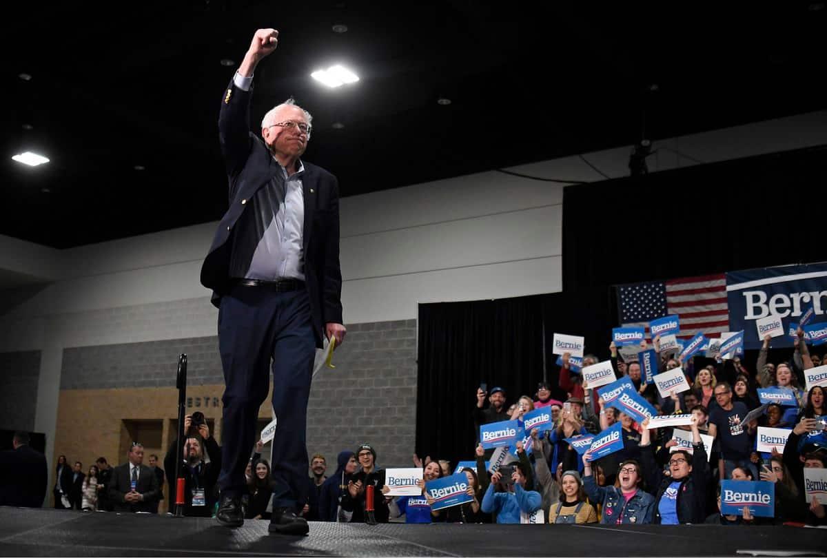 Bernie Sanders Addresses Overflow Crowd Of 3000 in WA