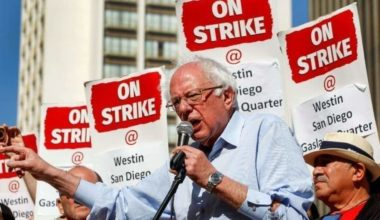 Bernie Sanders Declares War On Wall St.: End Your Greed Or We'll End It For You (VIDEO)