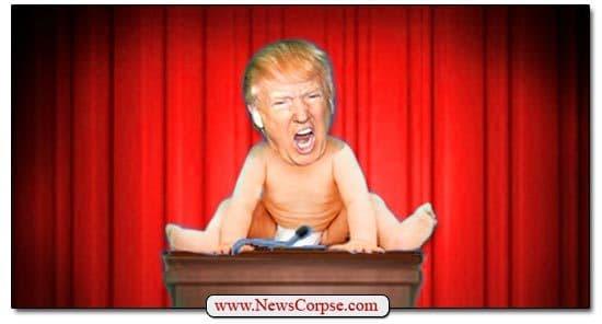 Big Baby Trump Has Nixed Nearly Every Potential Debate Moderator
