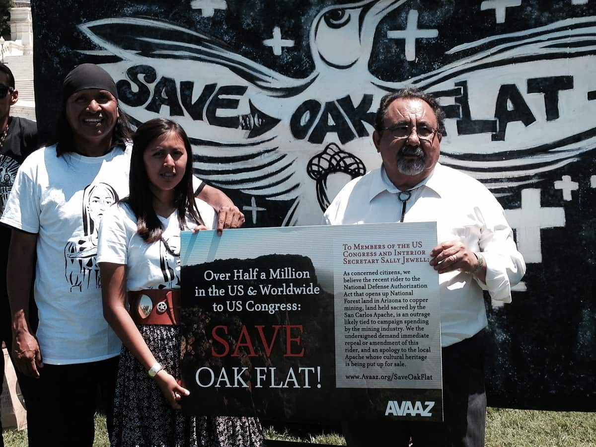 Congress Giving Sacred Apache Lands To Foreign Mining Company