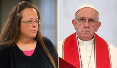Did Kim Davis Meet The Pope Reasons To Remain Skeptical (UPDATED)