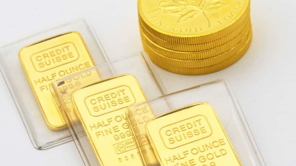 Gold bullion as an investment
