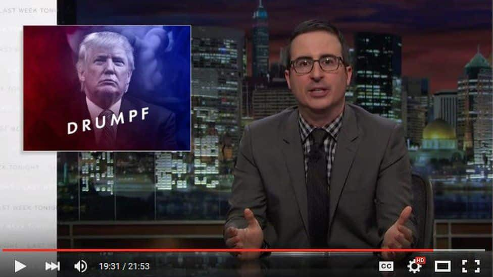 John Oliver Eviscerates Donald Trump's Candidacy And It Is Beautiful (VIDEO)