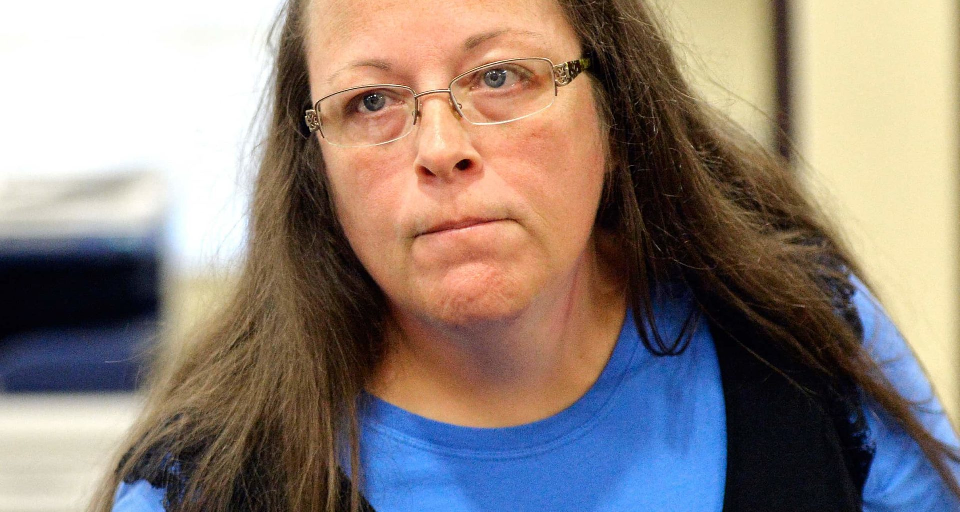 Kim Davis Busted: Vatican Won't Let Her Throw Pope Under The Bus