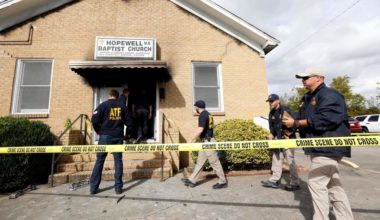 Mississippi Burning Again Black Church Torched, Defaced As White Supremacists Praise Trump
