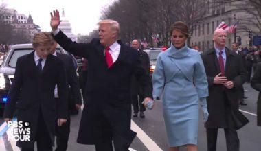 Protesters Force Trump To Abandon Motorcade, Climb Embankment (VIDEO) (1)