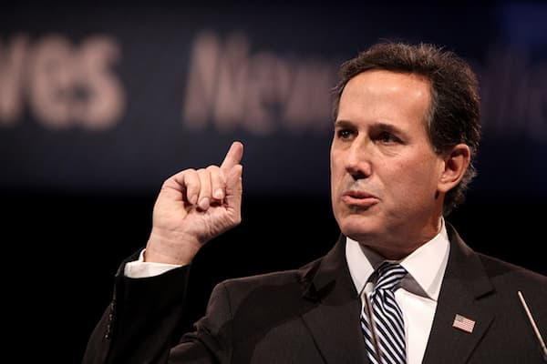 Santorum On Transgender Issues
