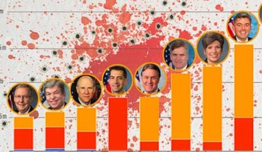 The NRA Gave These 9 Senators Over $22 Million To Vote Down Gun Laws (CHART)