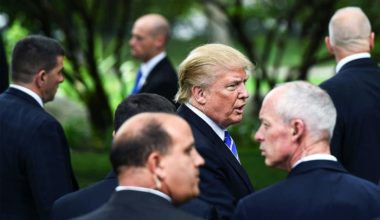 Trump Will Enter White House With His Own Team Of Private Security Enforcers