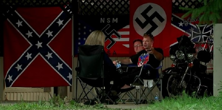 'We're A White Nation' Watch Racist Neo-Nazis Brag About Membership Increase (VIDEO)