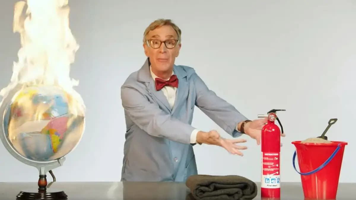 Bill Nye Ingeniously Links Global Warming and Terrorism (VIDEO)