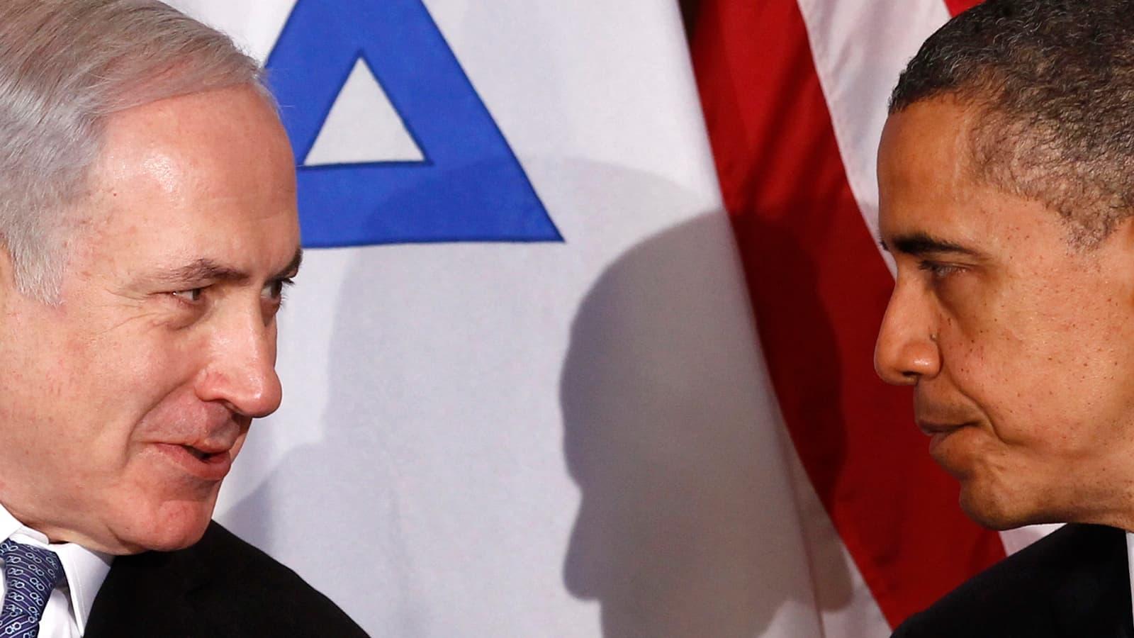 Boehner, Netanyahu Cross A Very Serious Line
