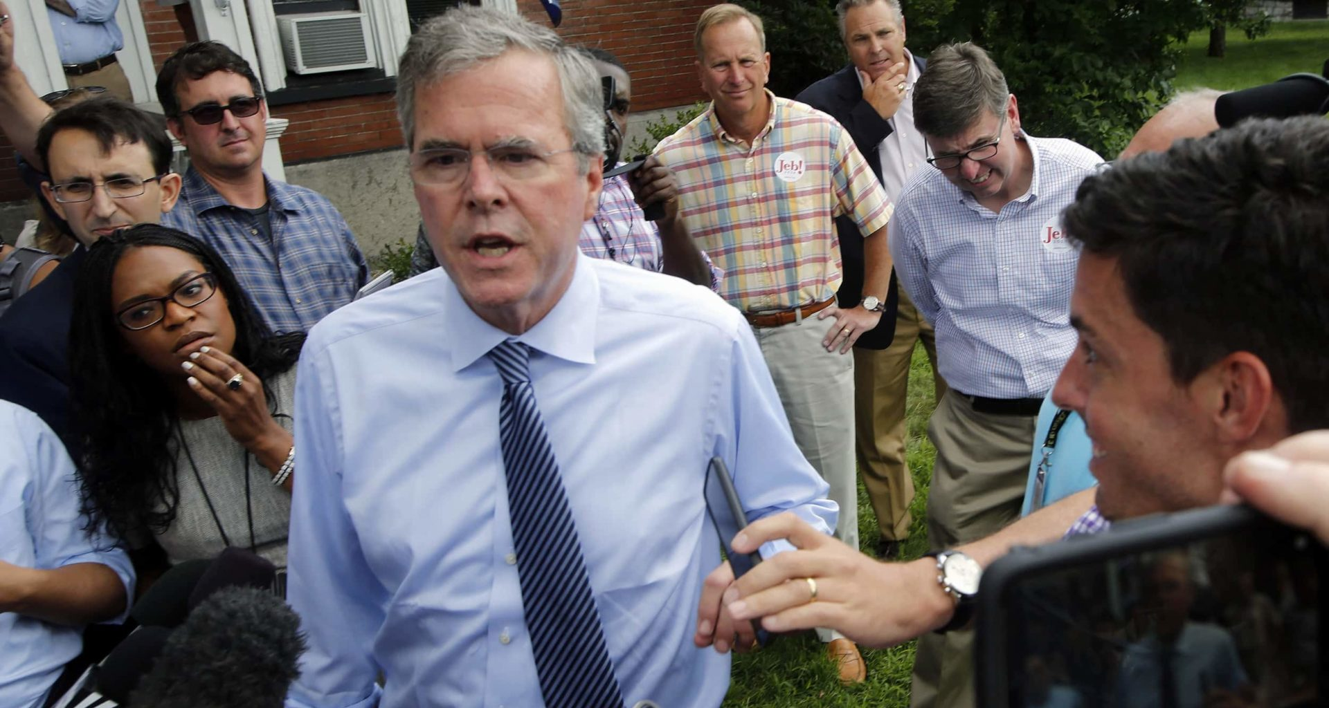 """Jeb Bush Thinks Black People Only Vote For Democrats To Get """"Free Stuff"""""""
