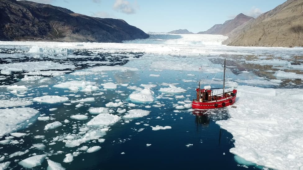 Lying Climate Change Deniers Claim Antarctica's Ice Isn't Melting Any More (VIDEO)
