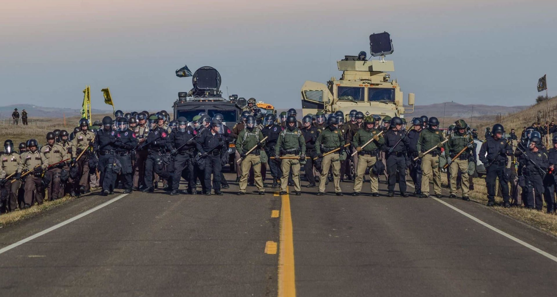 Trump Administration Has Decided To Treat Native Americans, Water Protectors As Terrorists